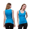 12-Pack of Women's Ribbed Cotton Tank Tops (Size S)
