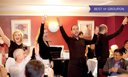 Live Opera With Dinner For One for £39 at Bel Canto, Hyde Park (28% Off)