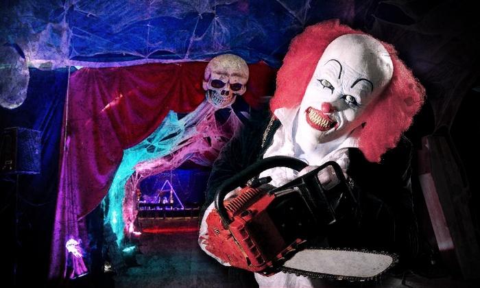 Horror Circus (DE) - Kaiserslautern: 2 Tickets Kategorie 2. oder 1. Loge für das Gastspiel des HORROR CIRCUS in Kaiserslautern im April ab 24,90 €