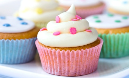 12 or 24 Jumbo Cupcakes at Daily's Bakery (Up to 55% Off)