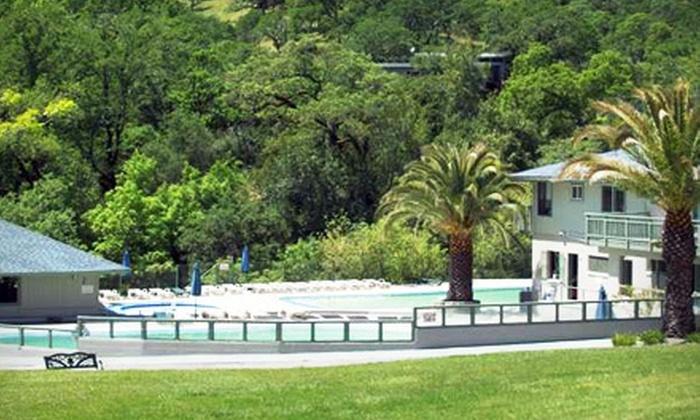 Morton's Warm Springs Resort - Sonoma: Full Season of Nature-Park Visits, or Picnic-Site Rental for 25 at Morton's Warm Springs Resort (Up to 53% Off)