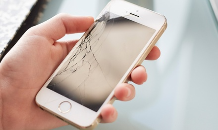 Phone Battery, Screen Repair, or Screen Replacement at Cracked My iPhone (Up to 60% Off). 16 Options Available.