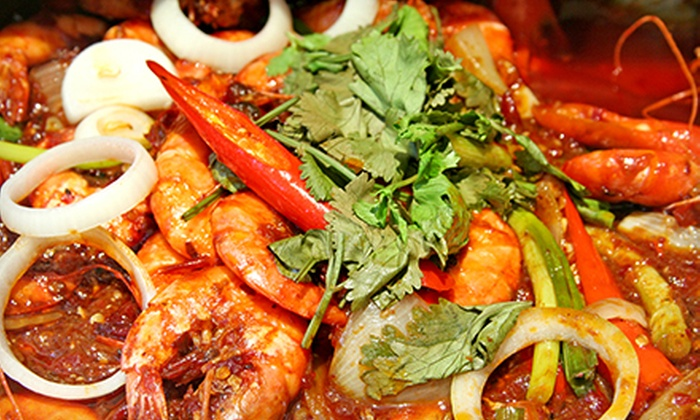 Touch of India - Garment District: Seafood Dinner for Two or Four at Touch of India (Up to 65% Off)