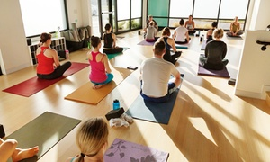 Hard Core Yoga: 10 or 20 Yoga Classes at Hard Core Yoga (Up to 57% Off)