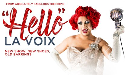 image for La Voix, 6 April – 29 June, Multiple Locations (Up to 41% Off)