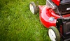 Lush Lawn Care SC: Lawn-Cutting Packages or Fall Cleanup Package from Lush Lawn Care SC (Up to 59% Off)