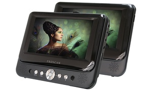 "Proscan Portable Dvd Player With 2""x7"" Screen (manufacturer Refurbished)"