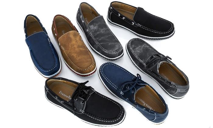 Franco Vanucci Bruce Men's Boat Shoes: Franco Vanucci Bruce Men's Boat Shoes. Multiple Styles Available.