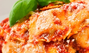 Silvio's Italian Villa: Italian Cuisine at Silvio's Italian Villa (Up to 50% Off). Three Options Available.