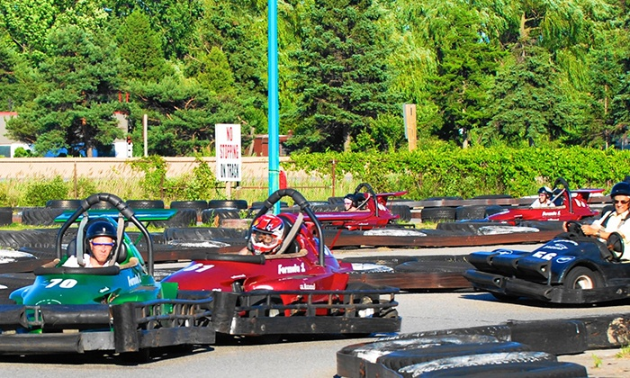 Niagara Go-Karts  - Niagara Falls: Six Go-Kart Laps and One Round of Mini Putt for One or Two at Niagara Go-Karts in Niagara Falls (Up to 50% Off)