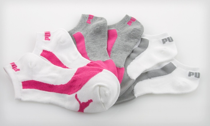 Puma Women's Athletic Socks: $9.99 for a 9-Pack or 12-Pack of Puma Women's Athletic Socks (Up to $36 List Price). 3 Styles Available.