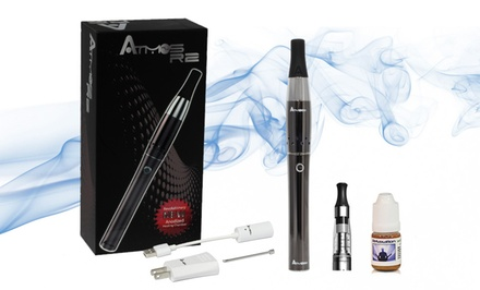 AtmosRX Next Generation R2 Dry Herb Vaporizer Kit with Oil Bundle. Multiple Colors Available.