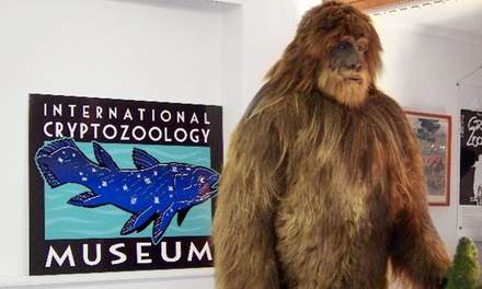 Visit for Two or Four, or Membership for One or Up to Four at International Cryptozoology Museum (Up to 55% Off)