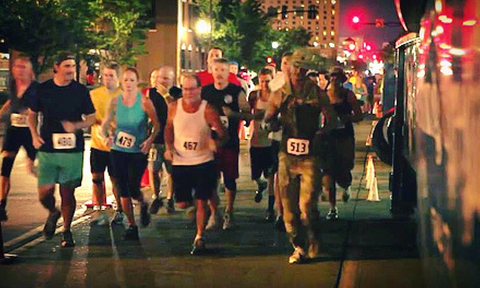 Mean Streets - Downtown Indianapolis: 5K Nighttime Obstacle Race for One or Two on November 3 from Mean Streets (Up to 54% Off)