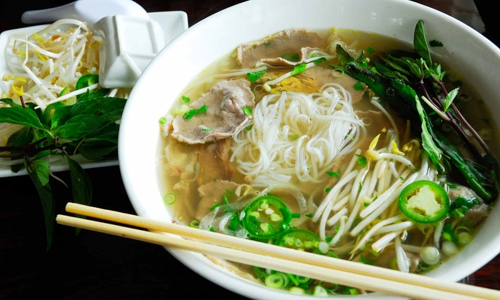 Pho Vietnam Restaurant - West Hartford: Authentic Vietnamese Cuisine at Pho Vietnam Restaurant (50% Off). Two Options Available.