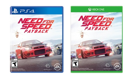 Groupon Goods Need For Speed Payback Xbox One Or PS4