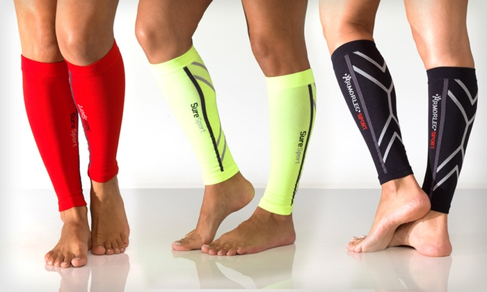 Remedy Calf Sport Compression Socks: $19.99 for One Pair of Remedy Calf Sport Compression Running Sleeve Socks ($49.99 List Price). 5 Colors. Free Shipping.