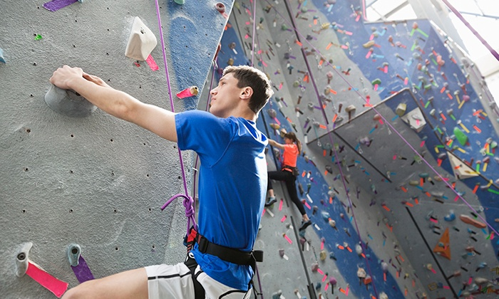 Up To 58 Off Rock Climbing