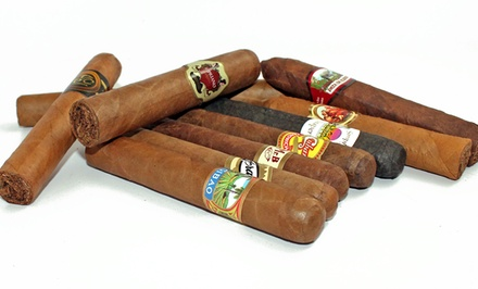 9- and 10-Pack Cigar Samplers from Mike's Cigars. Multiple Options Available from $19.99–$39.99.