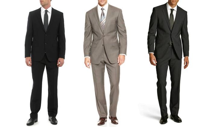 Umberto Bonelli Men's Classic-Fit 2-Piece Suit