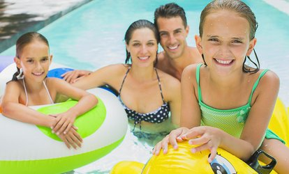 image for Pool and Water Slide Entry: Toddler ($2.50), Child ($6) or Family ($30) at Parakai Springs (Up to $65 Value)