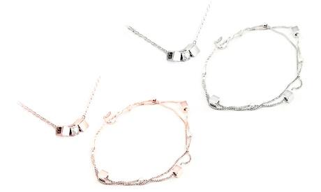1 o 2 conjuntos de joyería Victoria con cristales de Swarovski®
