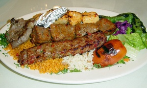 Heart of Jerusalem Cafe: Middle Eastern Food for Dine-In at Heart of Jerusalem Cafe (44% Off)
