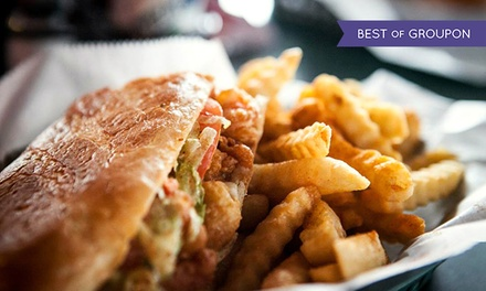 New Orleans–Style Cuisine at Po' Boys Creole Café (45% Off). Two Options Available.
