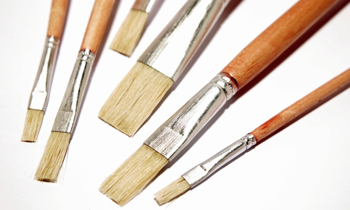 Cre8sart - Fort Lee: Two-Hour Art Class or Plaster-Painting Session for One, Two, or Four at Cre8sart (Up to 59% Off)