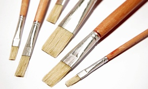 Cre8sart: Two-Hour Art Class or Plaster-Painting Session for One, Two, or Four at Cre8sart (Up to 59% Off)