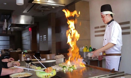 $11 for $25 Worth of Hibachi and Sushi Cuisine at Feng Shui Restaurant