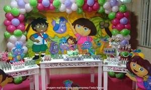 Festa Mania: Festa Mania – Pechincha/Jacarepaguá: kit personalizado com 150, 190, 250 ou 350 itens com guloseimas