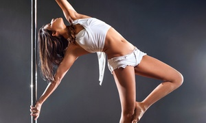 Chrome Fitness: Three or Five Pole Dance and Fitness Classes or a Party Package at Chrome Fitness          (Up to 67% Off)