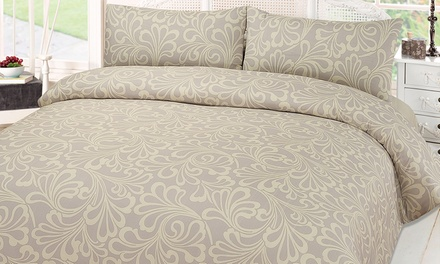 Mayfair Duvet Set in Choice of Size and Colour from £9.98 With Free Delivery (Up to 63% Off)