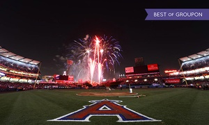 Los Angeles Angels Of Anaheim Major League Baseball Game At Angel Stadium Of Anaheim On April 2 Or 11 (up To 46% Off)