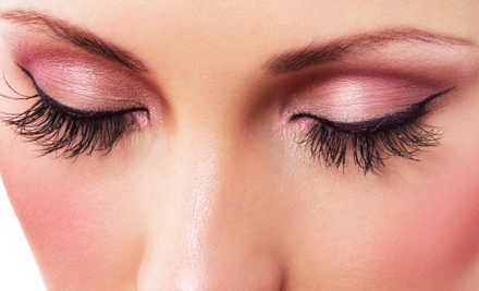 One Full Set of Mascara-Look or Mink Mascara-Look Eyelash Extensions at Utopia Lash & Makeup Design (Up to 57% Off)