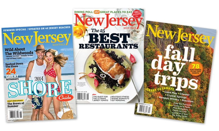 """New Jersey Monthly: $9 for a 12-Month Subscription to """"New Jersey Monthly"""" Magazine ($19.95 Value)"""