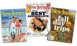 """$9 For A 12-month Subscription To """"new Jersey Monthly"""" Magazine ($19.95 Value)"""