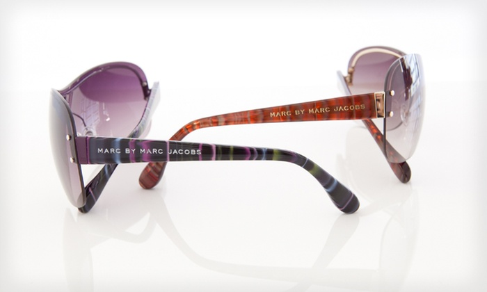 Marc by Marc Jacobs Sunglasses: $59 for Marc by Marc Jacobs Unisex Sunglasses ($100 List Price). Six Options Available. Free Shipping and Free Returns.