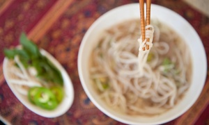 Le's Phở Tái: $6 for $10 Worth of Vietnamese Cuisine for Dinner at Le's Phở Tái