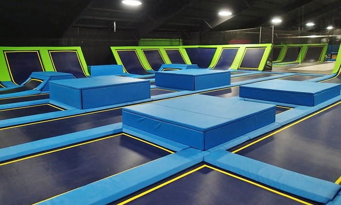 Fly High Trampoline Park - Fort Collins: 120-Minute Jump Pass for One or Four or Birthday Party Package at Fly High Trampoline Park (Up to 24% Off)