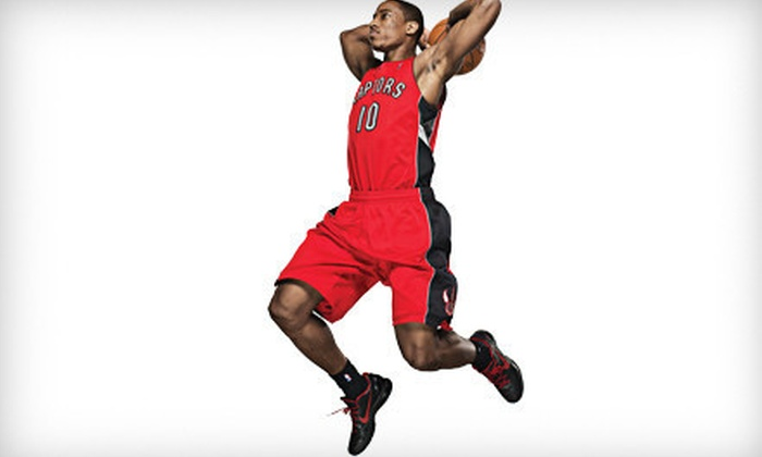 Toronto Raptors - Downtown Toronto: Toronto Raptors Game on March 27 or April 1 or 3 at Air Canada Centre (Up to 46% Off). Two Seating Options Available.