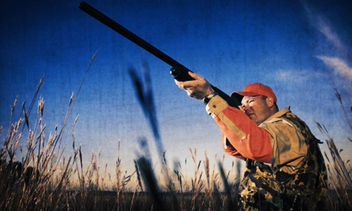 Wisconsin Adventures LLC - Exeter: Clay-Shooting Package for Up to Three with 50 or 100 Targets at Wisconsin Adventures LLC (63% Off)