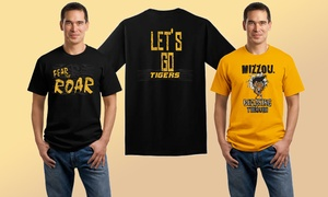 One Or Two Custom Missouri Tigers Screen-printed T-shirts At Embroider It (47% Off)