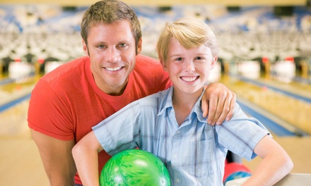 Bowling Outing for Two or Four with Shoe Rental and Food at West Lane Bowl (Up to 51% Off)