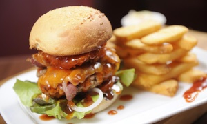 Trio Bar - Palos Heights: One Burger w/fries for $3 with Purchase of this offer at Trio Bar - Palos Heights