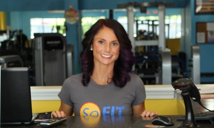 Four Weeks of Gym Membership at So Fit (71% Off)