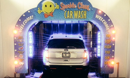 $12 for Three Basic Car Washes at Sparkle Clean Car Wash ($27 Value)