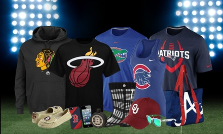 $15 for $25 Worth of Licensed Sports Apparel from Fanatics