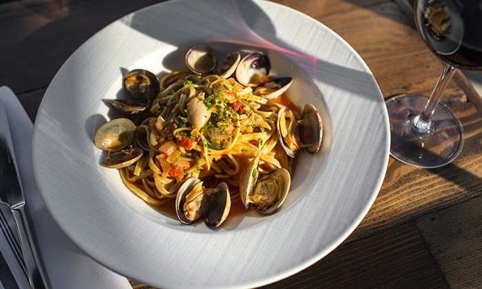 Battello - The Waterfront: $99 for a Tasting Experience for Two at Battello ($154 Value). Reservation Through Groupon Required.